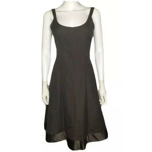 J.Crew Brown Bridesmaid Party Dress Fit Flare